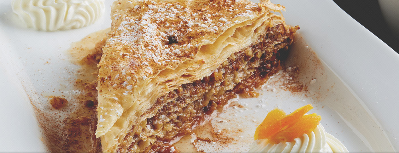 12 Islands Greek Taverna Baklava